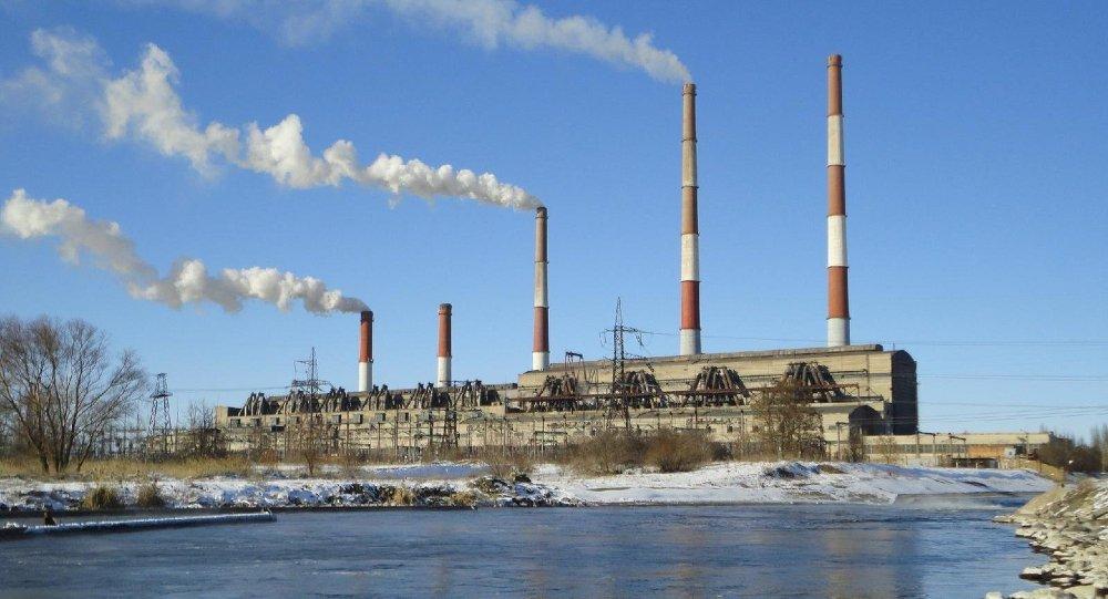 Central eléctrica Zmíevskaya