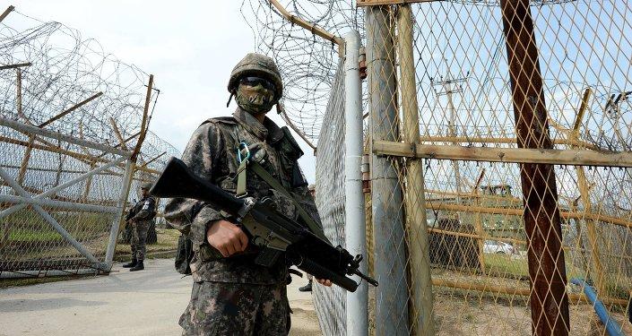 Soldado surcoreano (Archivo)