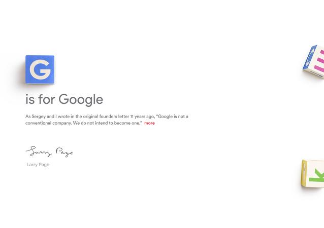 Google crea nueva empresa matriz Alphabet