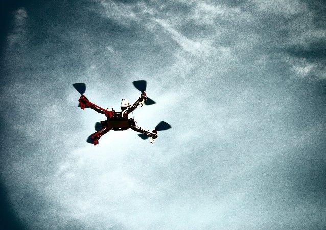 Un cuadricóptero