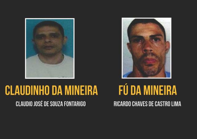 Detienen a los dos narcotraficantes más peligrosos de Río de Janeiro