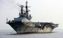 El portaviones INS Viraat