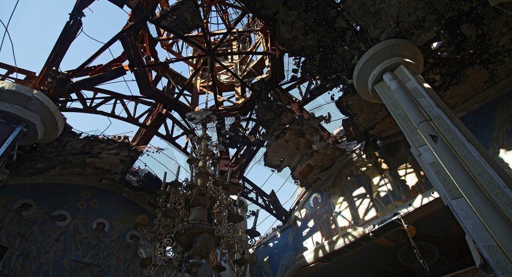 Destrucciones en Donbás