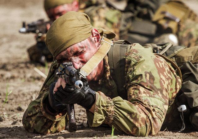 Concurso militar internacional 'Sobresalientes de la Exploración Militar'
