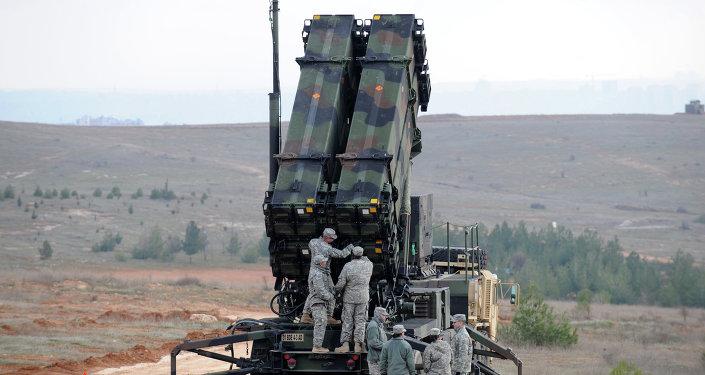 Sistema de misiles estadounidense Patriot (archivo)