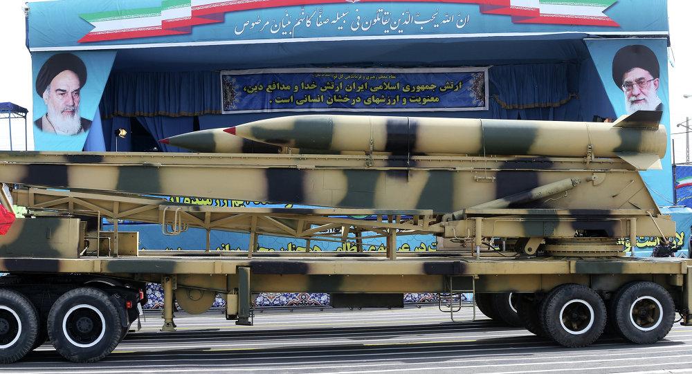 Desfile militar en Irán (archivo)
