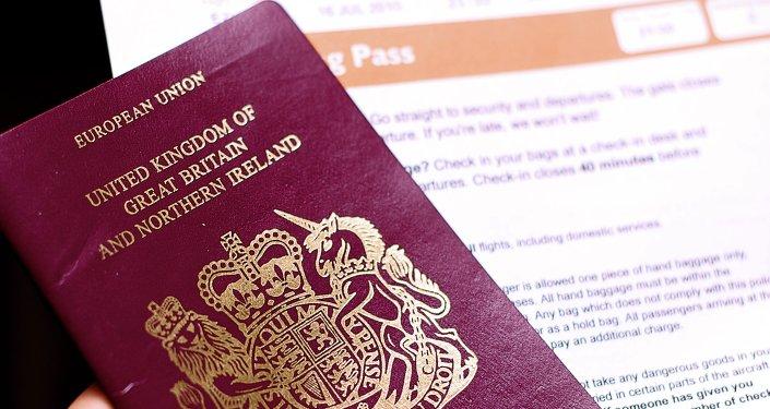 Pasaporte británico