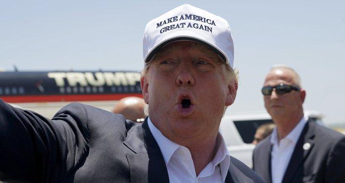 Donald Trump, candidato a las primarias del Partido Republicano de Estados Unidos
