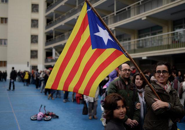 'Estelada', la bandera separatista de Cataluña