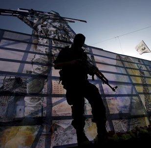 Militante palestino de Hamás