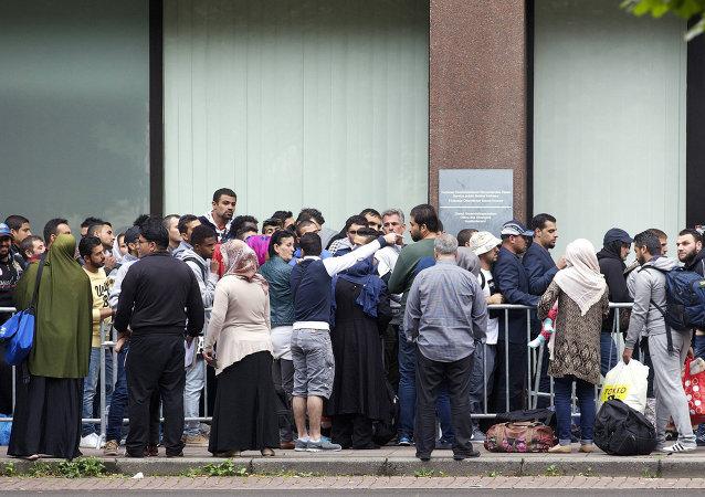 Migrantes en Bélgica (archivo)