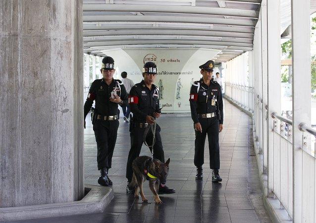 La policía de Tailandia (archivo)