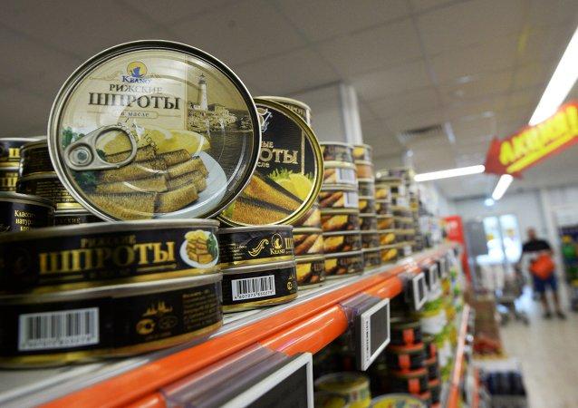 Conservas de sardinas ahumadas en aceite letones, sujetas al embargo alimentario ruso