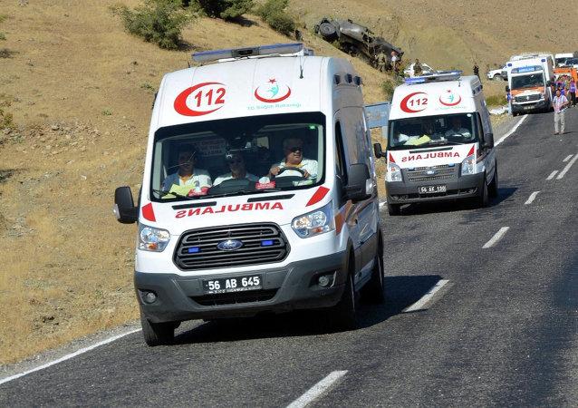Ambulancias turcas
