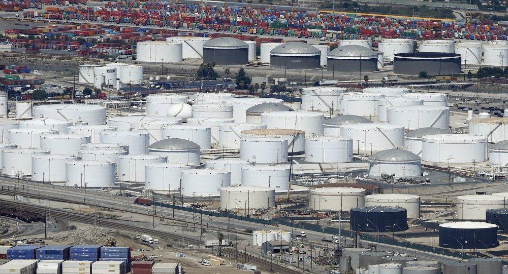 Almacenes de petróleo en EEUU