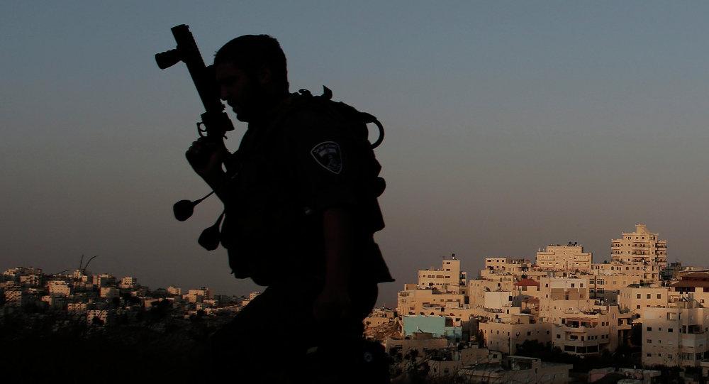 Soldado del Ejército de Israel (archivo)