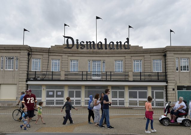 Dismaland, parque alternativo en Weston-Super-Mare