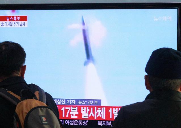 Lanzamientos de misiles norcoreanos