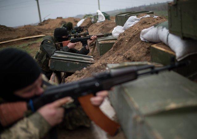 Soldados ucranianos (Archivo)