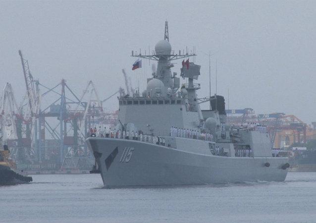 Buques chinos llegan a Rusia para maniobras conjuntas