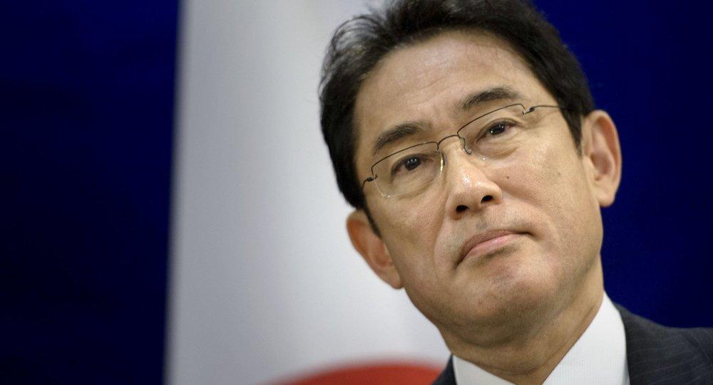 Fumio Kishida, ministro de Exteriores de Japón