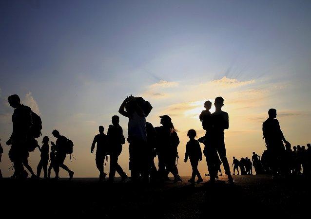 Los refugiados sirios en Europa