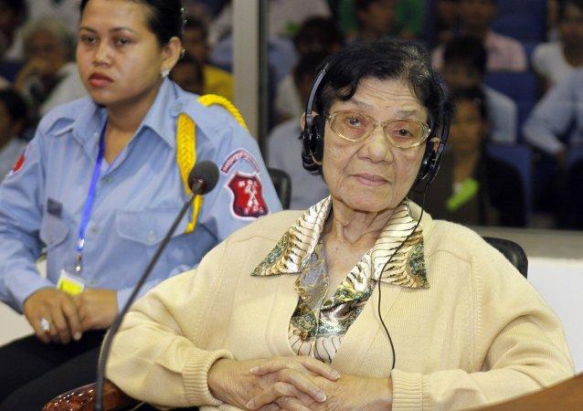 Ieng Thirith, ministra de Asuntos Sociales de Kampuchea Democrática