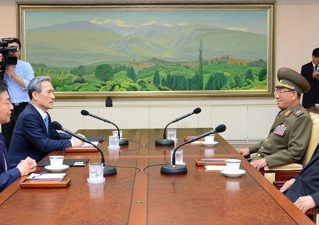 Negociaciones intercoreanas (Archivo)