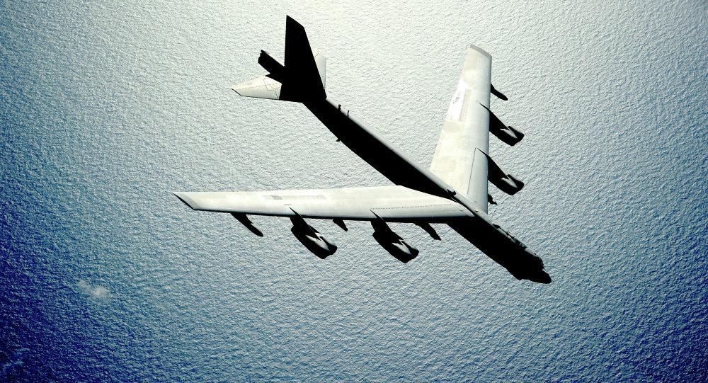 El avión norteamericano B-52