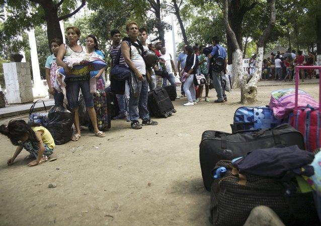 Deportación de los colombianos