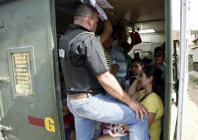 Colombianos indocumentados detenidos durante despliegue especial en Táchira