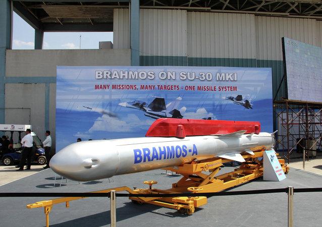 Misil supersónico ruso-indú BrahMos