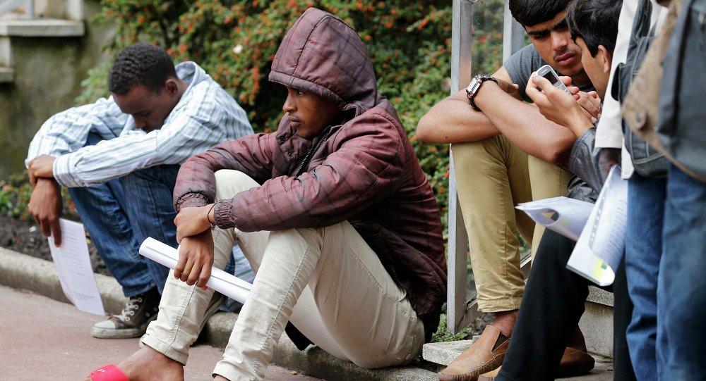 Migrantes en Calais