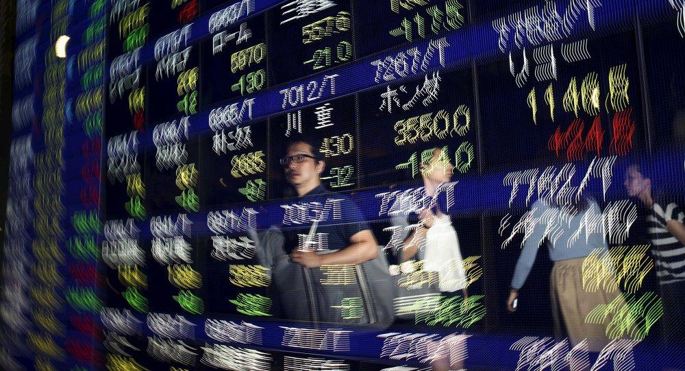 Bolsa en Tokio