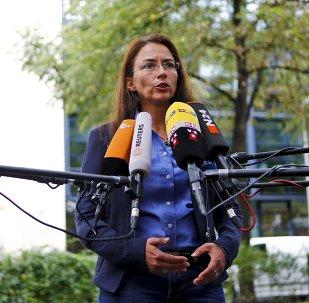 Yasmin Fahimia, secretaria general del Partido Socialdemócrata de Alemania (SPD)