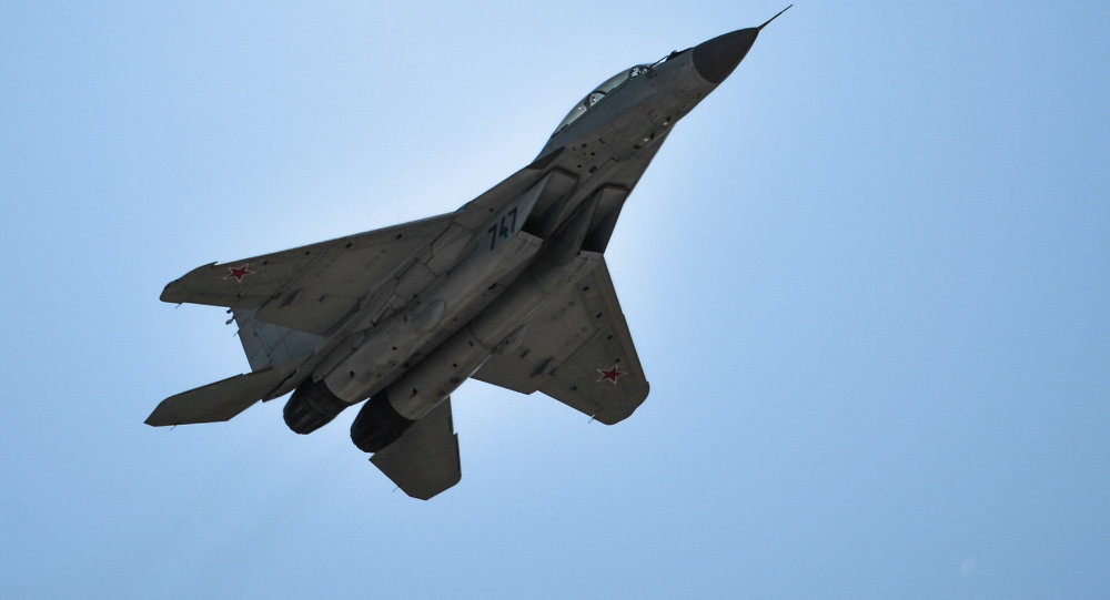 El caza MiG-29