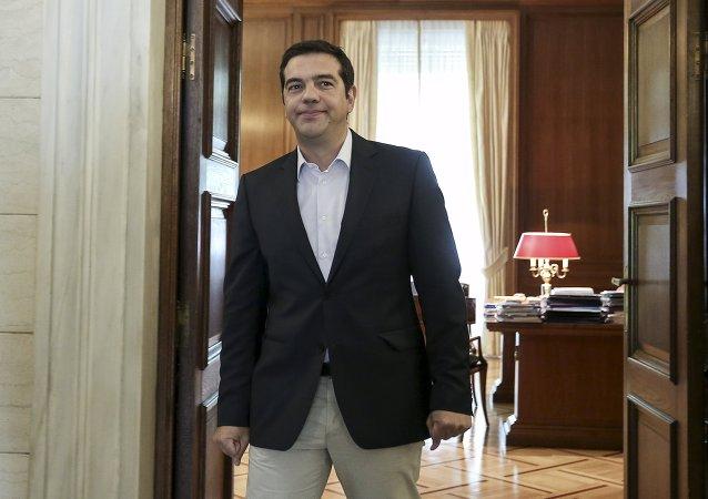 Alexis Tsipras, candidato de Syriza al Gobierno de Grecia