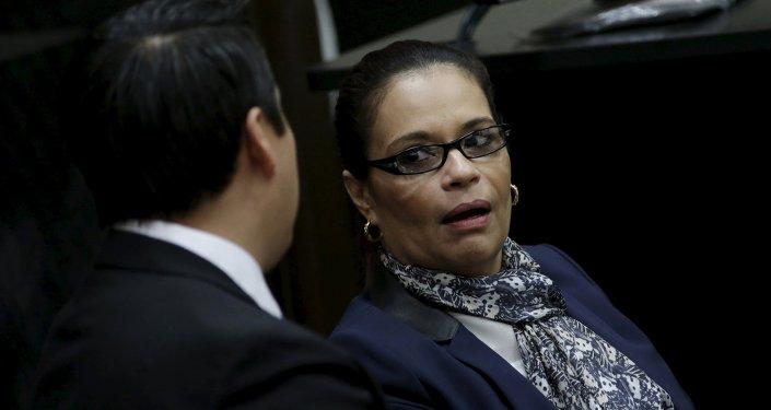 Ex vicepresidenta de Guatemala Roxana Baldetti