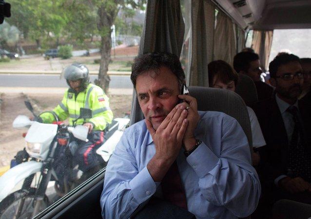 Aécio Neves, posible candidato del Partido de la Social Democracia Brasileña