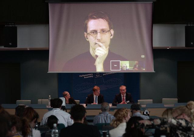 Edward Snowden, exempleado de la NSA y de Agencia Central de Inteligencia (CIA)