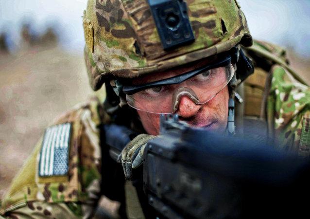 Un ranger del Ejército de EEUU