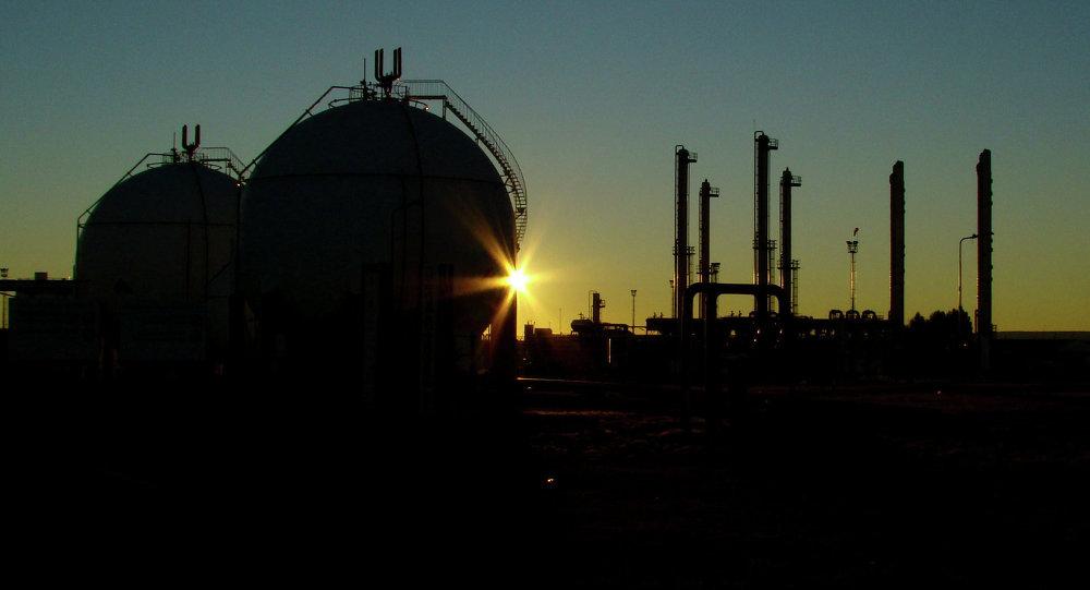 Planta de gas (archivo)