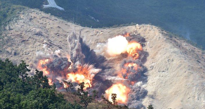 Maniobras en Corea del Sur (archivo)