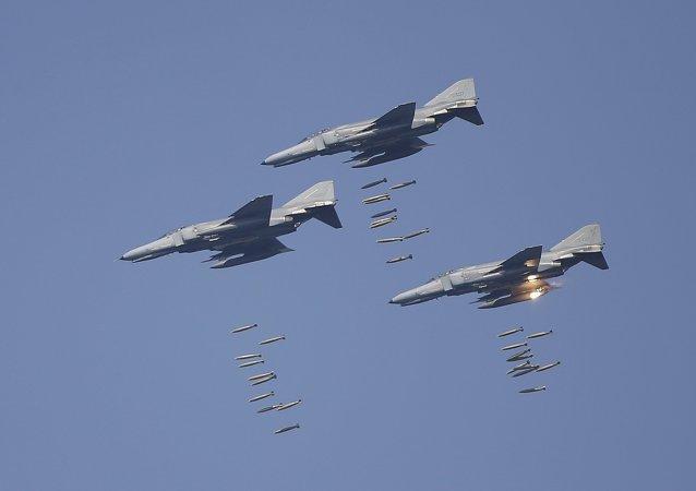 Maniobras militares conjuntas de EEUU y Corea del Sur