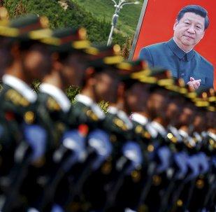 El ensayo del desfile del 70 aniversario de la Victoria en la Segunda Guerra Mundial en China