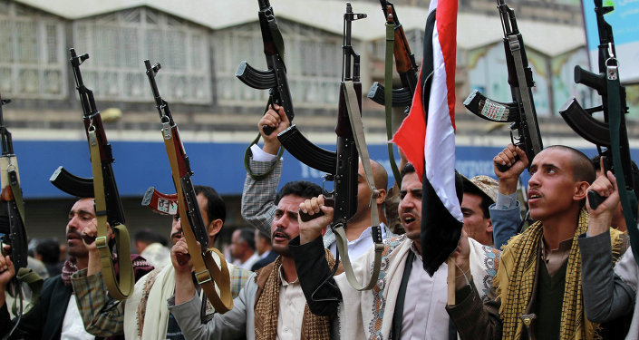 Milicianos hutíes