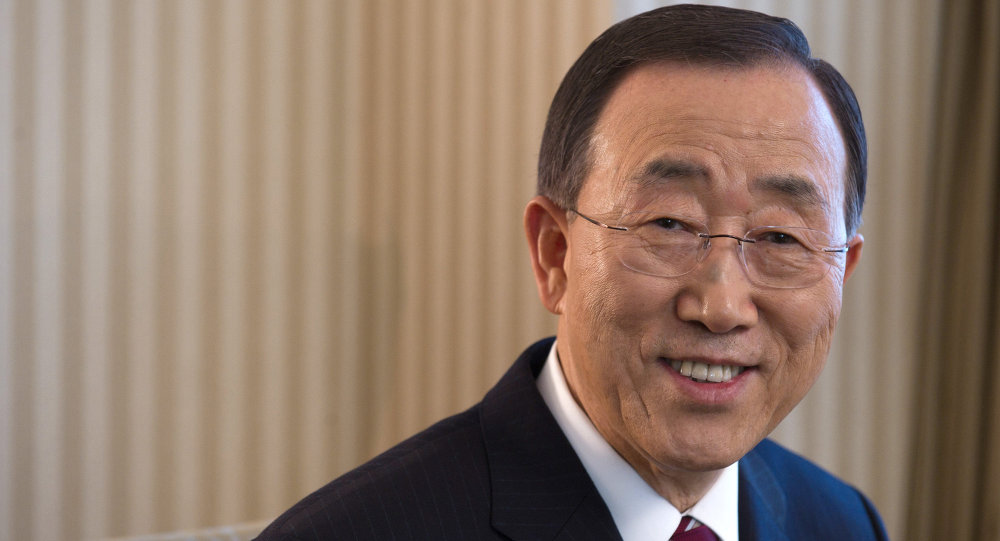 Ban Ki-moon, el secretario general de la ONU