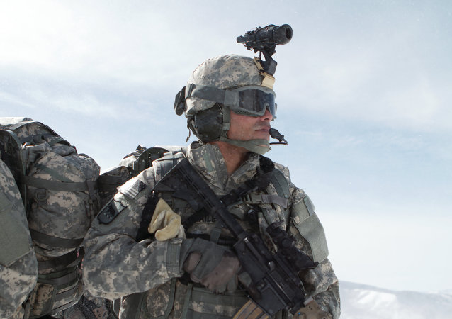 Un soldado estadounidense (archivo)
