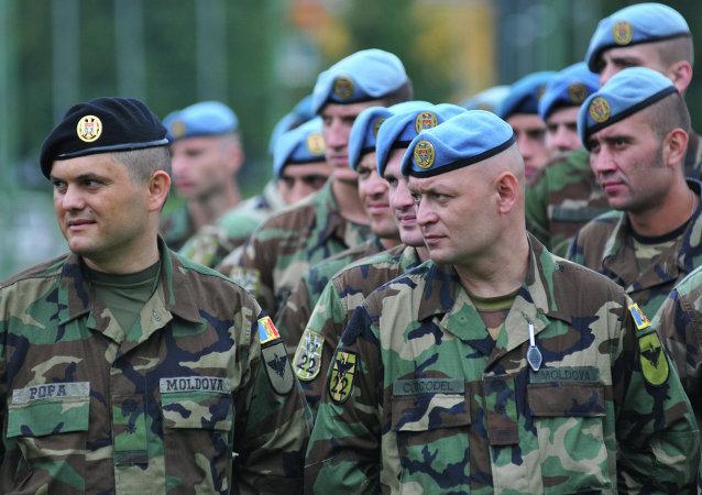 Soldados moldavos (archivo)