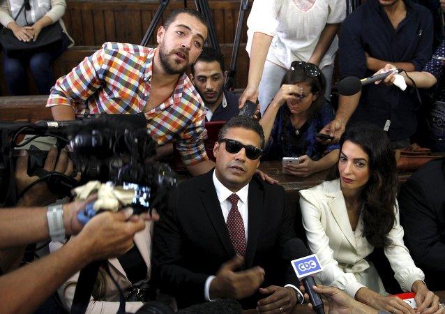Mohamed Fahmy y Baher Mohamed, periodistas de Al Jazeera